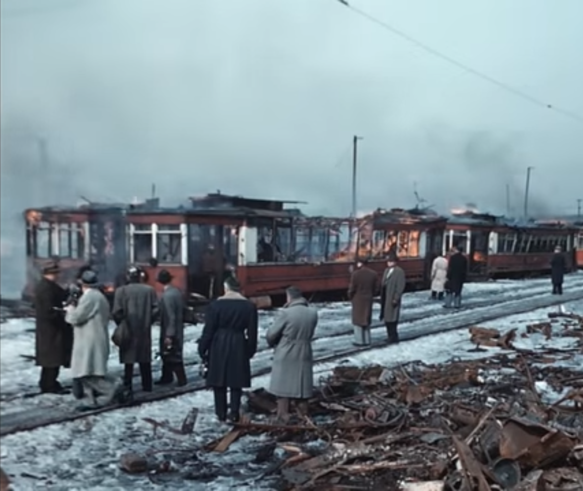 Old CTA Cars Go Up in Smoke: A Walk Through History |